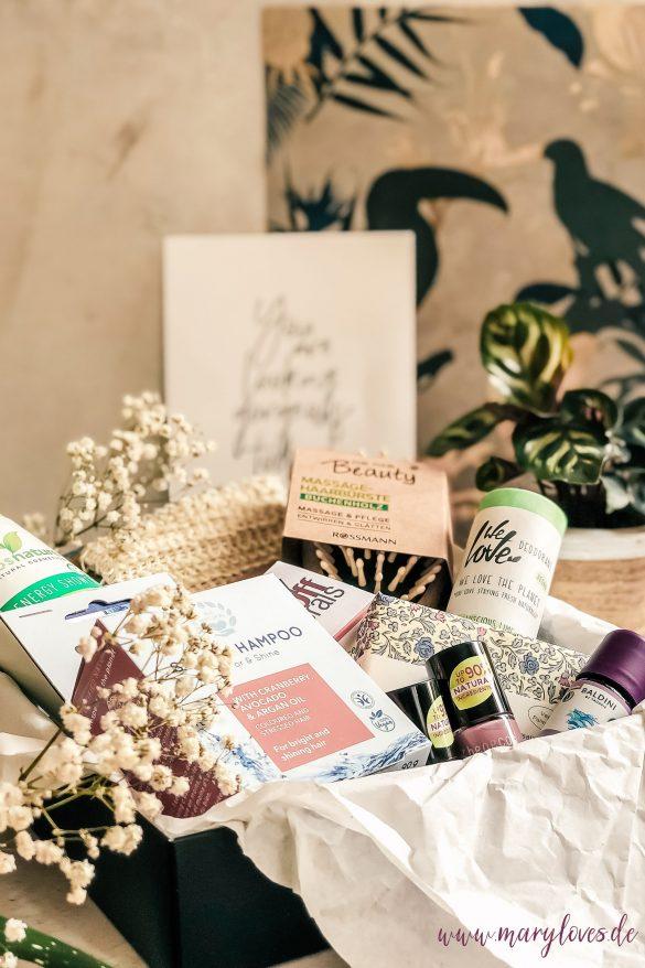 Bloggeburtstagsgewinnspiel: Gewinnt ein sommerliches Naturkosmetik-Paket