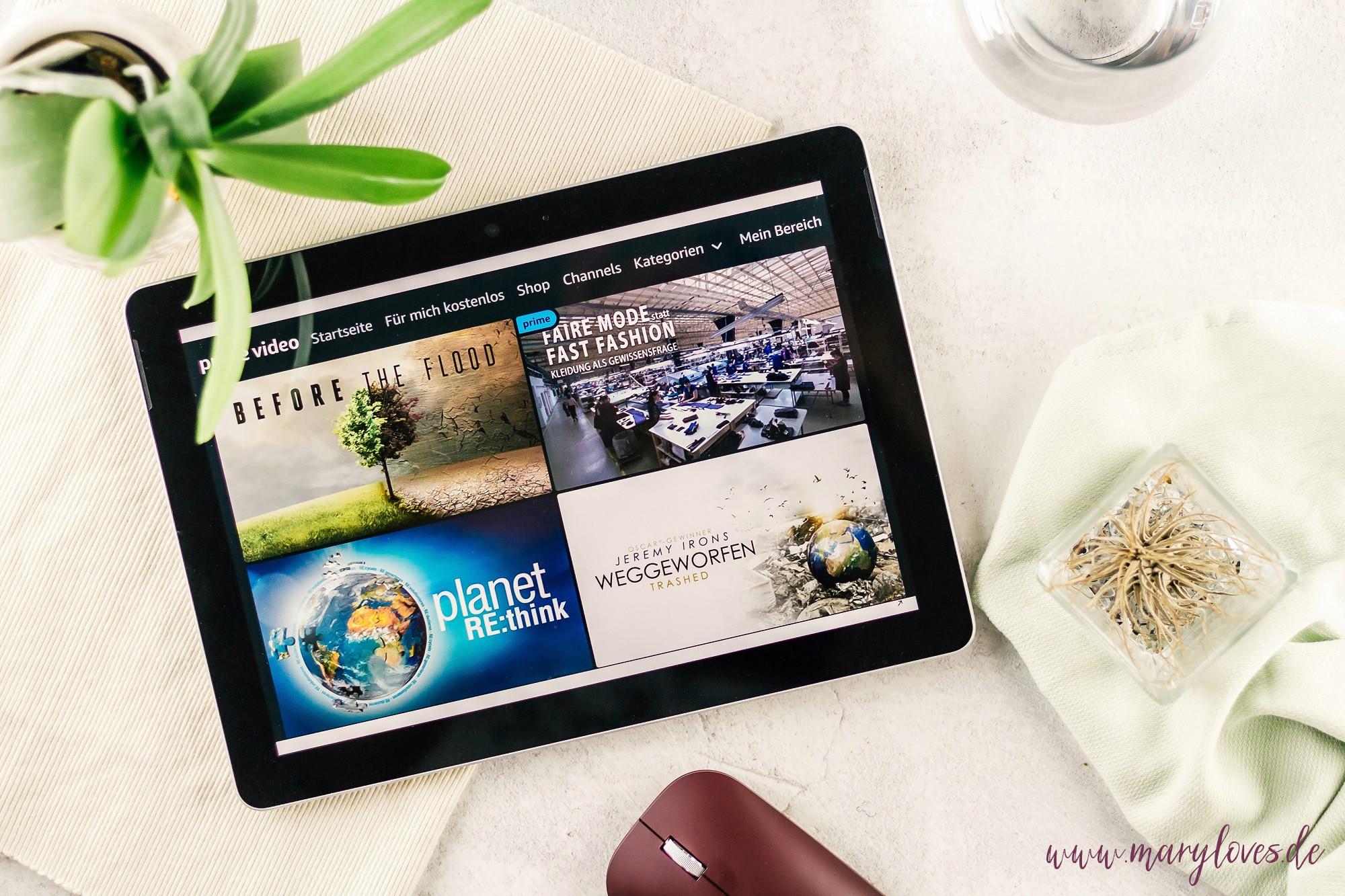 Dokumentationen über Nachhaltigkeit auf Amazon Prime